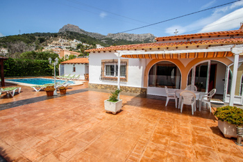 Villa Mercedes holiday home in Calpe on the Costa Blanca