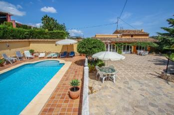 Self catering villas Finca Vicente on the Costa Blanca of Spain.  Teulada Holiday villas in Costa Blanca