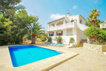 Villa San Jaime 3B located the town of Benissa for rent property costa blanca Spain