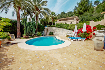 Villa Chrisuli a delightful villa located in the town of Moraira. A holiday home on the Costa Blanca in Spain.