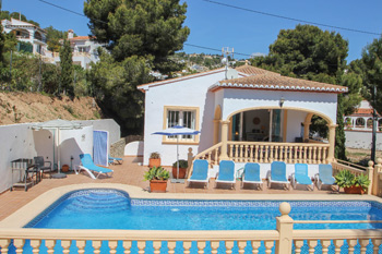 Villa Hermosa in Benissa a villas in Spain to rent close to the beach beach villa of costa blanca