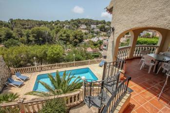 Villa Kanky 6 is a holiday villa on the town of Benissa to rent  in Costa Blanca property Spain