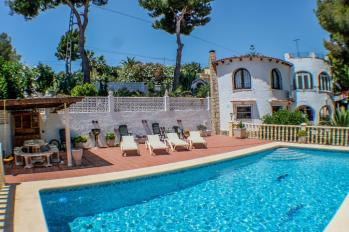 Villa El Cisne in Benissa, Spain. Villa El Cisne great holiday home on the Costa Blanca