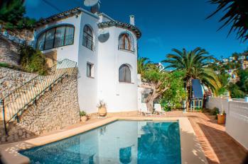 Villa Luz in Benissa, Spain. Villa Luz great holiday home on the Costa Blanca
