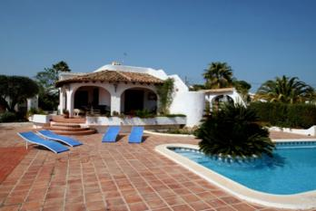 Villa El Barraco in Moraira, Spain. Villa  El Barraco great holiday home on the Costa Blanca
