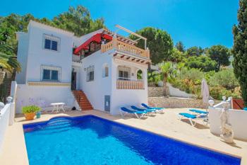 Villa Alma in Benitachell, Spain. Villa Alma great holiday home on the Costa Blanca
