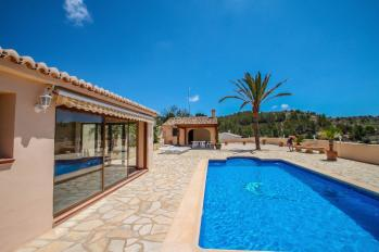 Villa Santa Ana located in the town of Benissa. A holiday home in Costa Blanca in Spain.