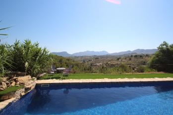 Villa Rocasol located in the town of Benissa. A holiday home in Costa Blanca in Spain.