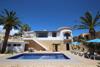 Villa Golondrina a delightful villa located in the town of Moraira. A holiday home on the Costa Blanca in Spain.
