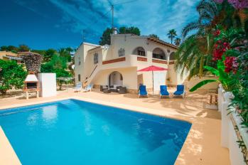 Villa Miquel in Moraira, Spain. Villa Miquel great holiday home on the Costa Blanca