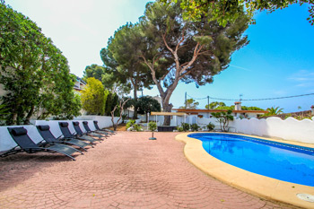Villa Pedro 6 in Moraira a villas in Spain to rent close to the beach beach villa of costa blanca