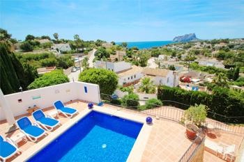 Villa Argentario-4 a delightful villa located near the beach by Benissa coast. A holiday home on the Costa Blanca in Spain.