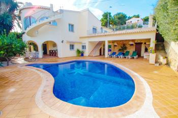 Villa May in Benissa on the Costa Blanca