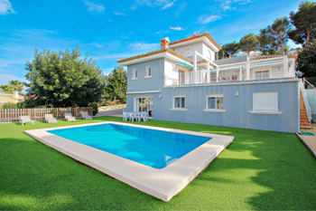 Villa Gema in Calpe, Spain. Villa Gema great holiday home on the Costa Blanca