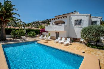 Villa Yojo in Moraira, Spain. Villa Yojo great holiday home on the Costa Blanca